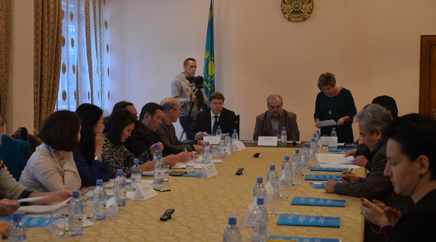 Discussion on strategic priorities of the cultural policy of the Republic of Kazakhstan
